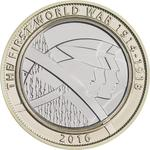United Kingdom / Two Pounds 2016 Army - reverse photo