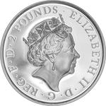 United Kingdom / Silver Ounce 2018 Britannia (Proof) - obverse photo