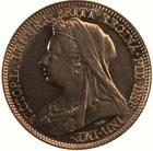 United Kingdom / Half Sovereign 1900 - obverse photo