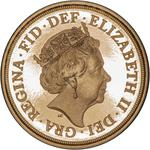 United Kingdom / Quarter Sovereign 2019 - obverse photo