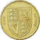 United Kingdom / One Pound 2010 Shield - reverse photo