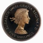 Crown 1960: Photo Proof Coin - Crown, Elizabeth II, Great Britain, 1960