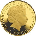 United Kingdom / Gold Twentieth-Ounce 2014 Britannia - obverse photo