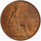 Penny 1904: Photo Coin - Penny, Edward VII, Great Britain, 1904