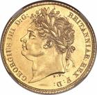 Half Sovereign 1825: Photo Great Britain 1825 1/2 sovereign