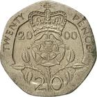 United Kingdom / Twenty Pence 2000 - reverse photo