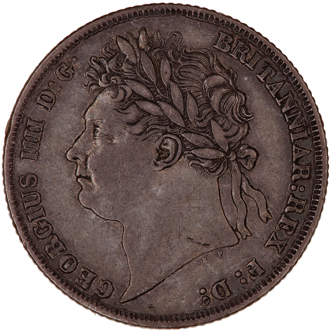 Shilling George IV Second Issue: Photo Coin - Shilling, George IV, Great Britain, 1824