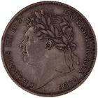 Shilling 1824: Photo Coin - Shilling, George IV, Great Britain, 1824