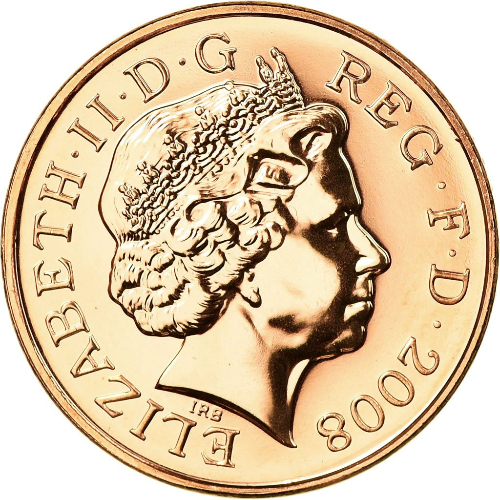 One Penny 2008 (Dent design): Photo Coin, Great Britain, Elizabeth II, Penny, 2008