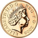 United Kingdom / One Penny 2008 (Dent design) - obverse photo