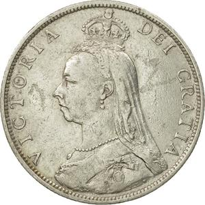 United Kingdom / Florin 1889 - obverse photo