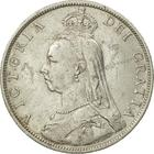 Florin 1889: Photo Silver florin, Great Britain