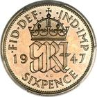 Sixpence 1947: Photo Great Britain 1947 6 pence