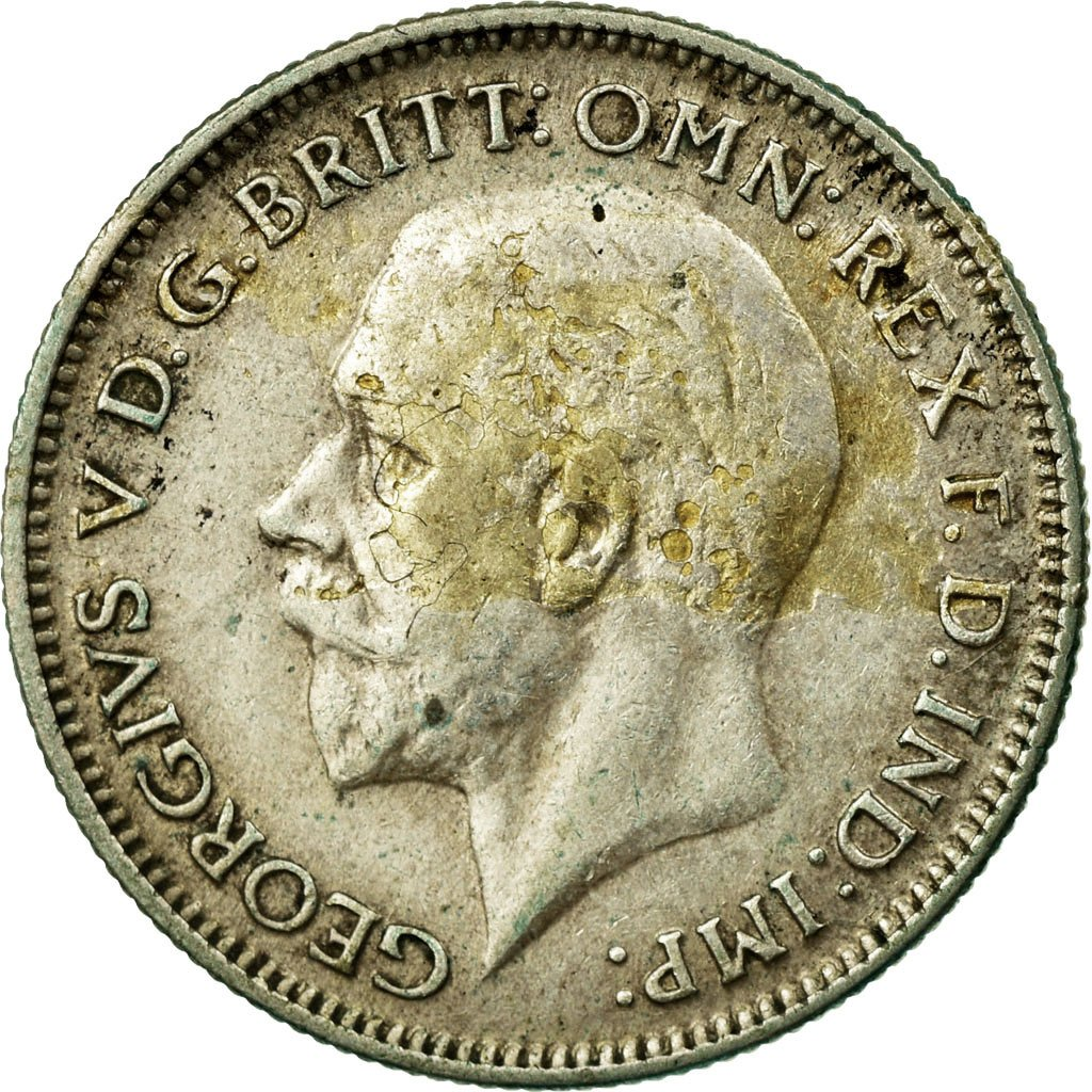 Sixpence 1935: Photo Coin, Great Britain, 6 Pence, 1935