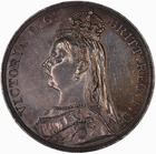 United Kingdom / Crown 1888 - obverse photo