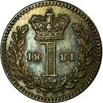 United Kingdom / Penny 1881 (Maundy) - reverse photo