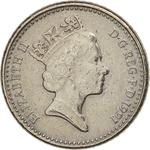 United Kingdom / Five Pence 1991 - obverse photo