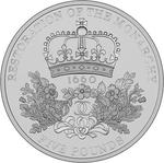 United Kingdom / Five Pounds 2010 Restoration of the Monarchy - reverse photo