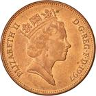 United Kingdom / Two Pence 1997 - obverse photo