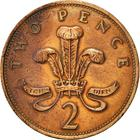 United Kingdom / Two Pence 1991 - reverse photo