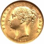 United Kingdom / Sovereign 1838 - obverse photo
