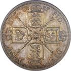 United Kingdom / Florin 1887 Jubilee - reverse photo