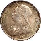 Halfcrown 1896: Photo Great Britain 1896 half crown