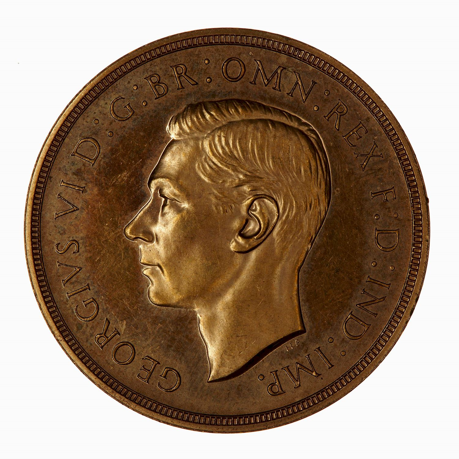 Two Pounds (Pre-decimal): Photo Proof Coin - 2 Pounds, George VI, Great Britain, 1937
