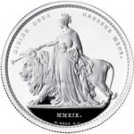 United Kingdom / Silver Two Ounces 2019 Una and the Lion - reverse photo