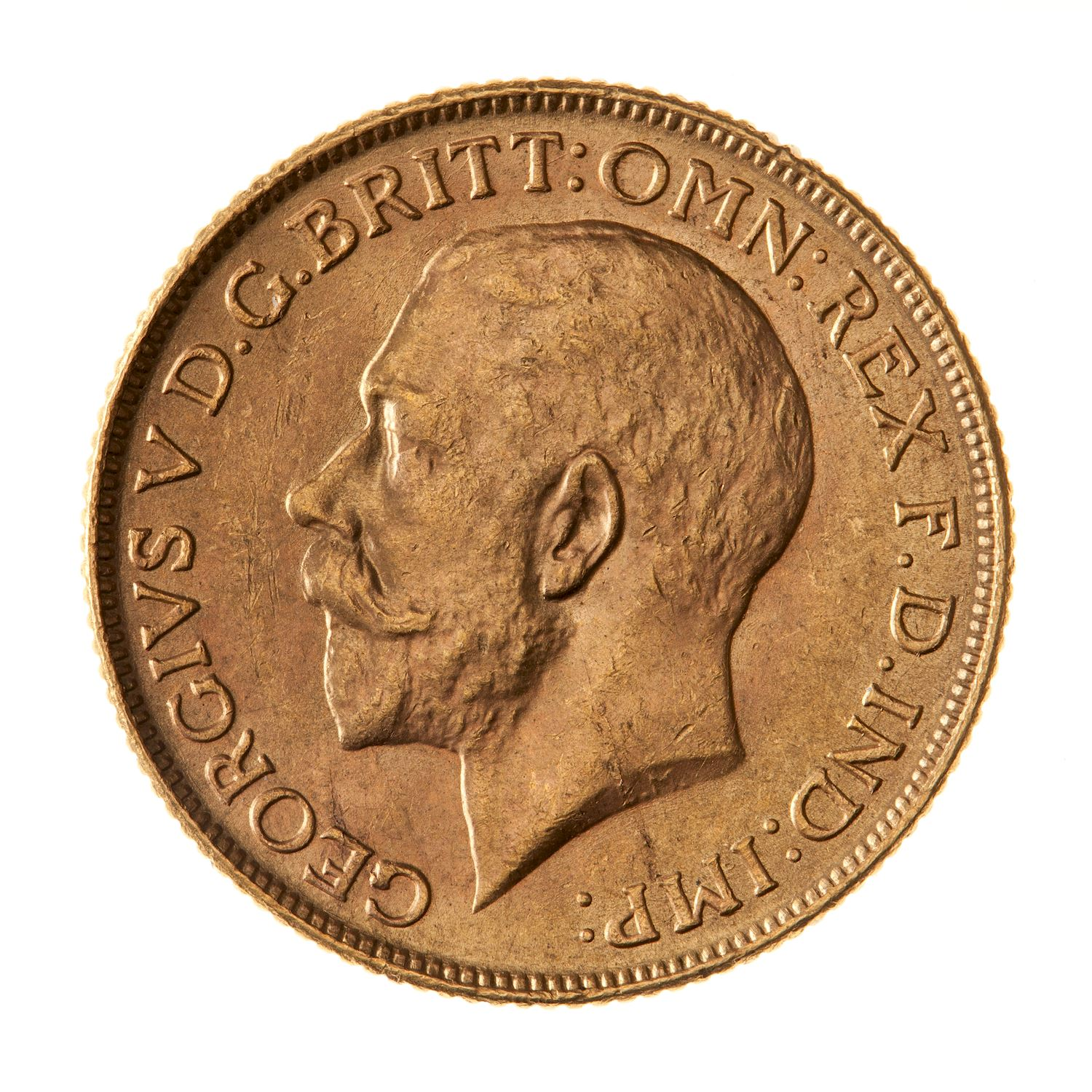Sovereign 1918: Photo Coin - Sovereign, India, 1918