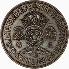 Florin 1941: Photo Coin - Florin (2 Shillings), George VI, Great Britain, 1941