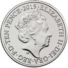 United Kingdom / Ten Pence 2019 W - World Wide Web - obverse photo