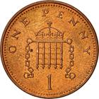 United Kingdom / One Penny 2008 (Ironside design) - reverse photo
