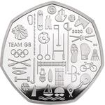 United Kingdom / Fifty Pence 2020 Team GB - reverse photo