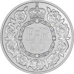 United Kingdom / Five Pounds 2016 Queen's 90th Birthday - reverse photo