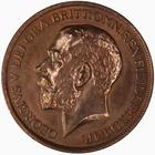 Penny 1911: Photo Coin - Penny, George V, Great Britain, 1911