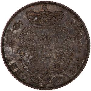 United Kingdom / Sixpence 1821 - reverse photo