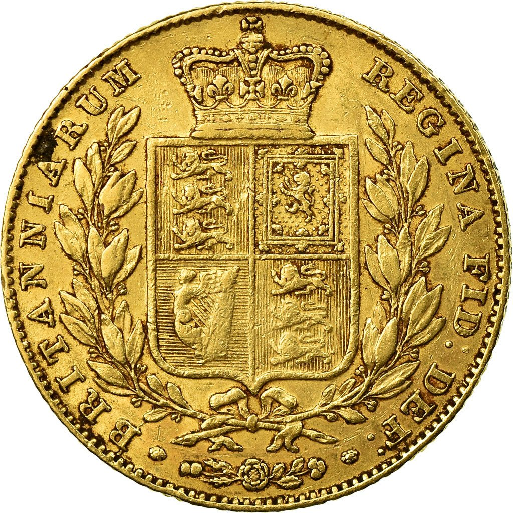 Sovereign 1844: Photo Coin, Great Britain, Sovereign, 1844