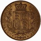 Sovereign 1843: Photo Coin - Sovereign, Queen Victoria, Great Britain, 1843