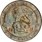 Shilling 1911: Photo Great Britain 1911 shilling