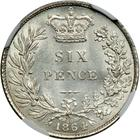 Sixpence 1864: Photo Great Britain 1864 6 pence