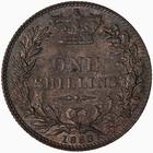Shilling 1883: Photo Coin - Shilling, Queen Victoria, Great Britain, 1883
