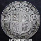 Halfcrown 1908: Photo 1908 Edward VII British Silver Half Crown