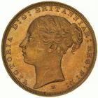 Sovereign 1887 St George, Young head: Photo Coin - Sovereign, Victoria, Australia, 1887