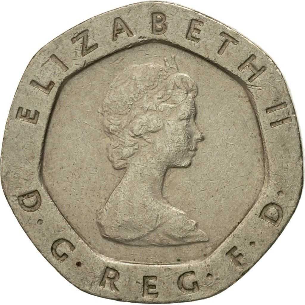 1983 20 pence coin