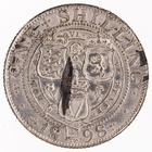 Shilling 1898: Photo Silver shilling, Great Britain