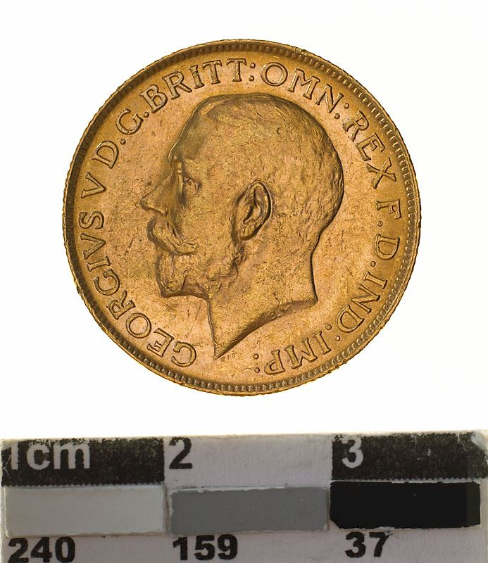Sovereign 1917: Photo Coin - Sovereign, Western Australia, Australia, 1917