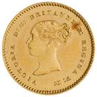 Quarter Sovereign 1853: Photo Gold 1/4 Sovereign, Great Britain, 1853