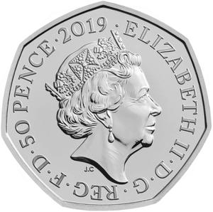 United Kingdom / Fifty Pence 2019 Wallace and Gromit (NCLT) - obverse photo