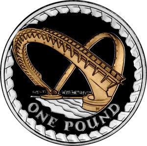 United Kingdom / One Pound (NCLT) - reverse photo